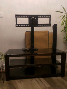 Tv stand +tv mount