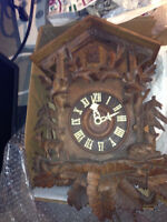 Antique Cuckoo Clock  $20 obo