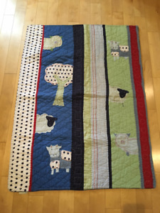 Children's Quilt from Pottery Barn - as new condition