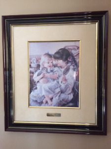 Sandra Kuck framed pictures - signed and numbered