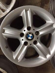 """BMW 323i aluminum rims. Set of 4.  16"""""""