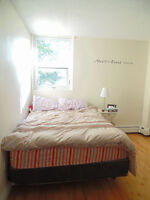 Avail Sept lovely two bedroom suite in South End