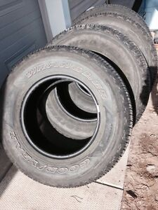 Set of 4 265/70R17 Tires.