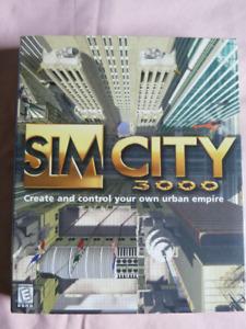 Classic PC Game Sim City 3000
