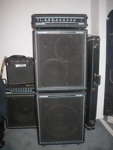 BASS AMP AND CABS