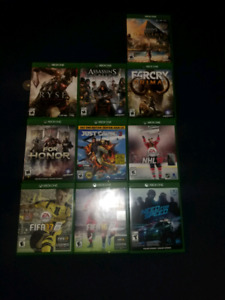Jeux Xbox One S à vendre/Xbox One S games for sale