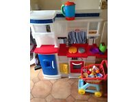 Little tykes prep and serve toddler play kitchen