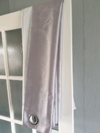 Silver/ grey curtains