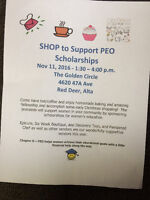 Shop to Support PEO Scholarships
