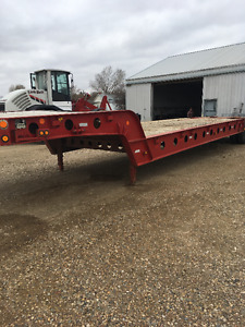 1990 Rotec lowbed trailer