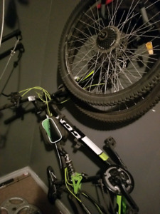 21 speed CCM mountain bike.