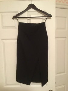 Black Zara Skirt size small Brand new!