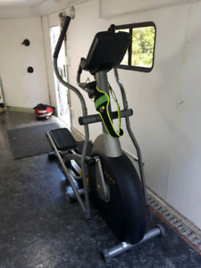 Live strong elliptical machine