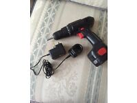 Powerbase CDT112F 12V Cordless Drill Driver fully working and in great condition