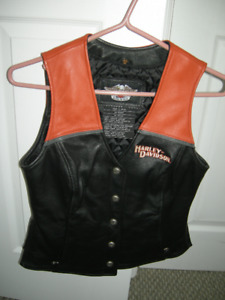 Woman's Small Harley Davidson Vest