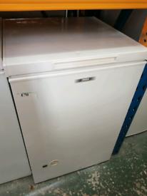 55cm 100L Zanussi chest freezer with 3 months warranty