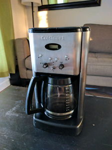 Cuisinart 12 cup stainless steel programmable coffee maker