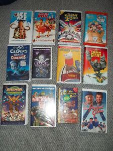 MANY VHS FOR SALE - GREAT FOR KIDS and SOME ADULTS