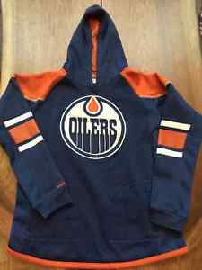 Oilers sweatshirt - youth size 14