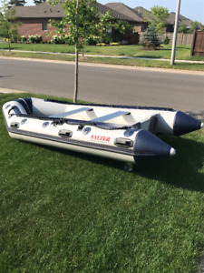 Inflatable Boat and Motor