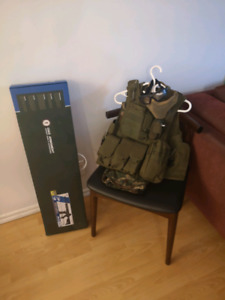 g&g Airsoft gun and tactical vest