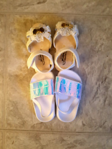 Size 3/4 sandals toddler