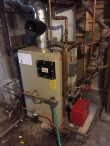 Kerr High Efficiency Saturn Oil Furnace