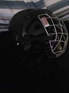Xs hockey helmet