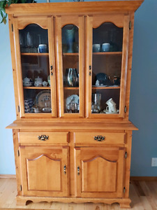 Selling a solid wood hutch