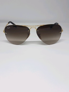 RAYBAN RB 3449 FRAMELESS AVIATOR PAID  $250!! ONLY  $75!