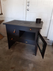 Wood Burning Cook Stove, Brand New