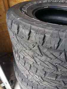 LT285/75/R16 BRIDGESTONE ALL TERRAIN TIRES