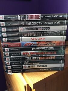 PlayStation 2 games (all or individual)