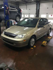 2001 Ford Focus ZTS Berline