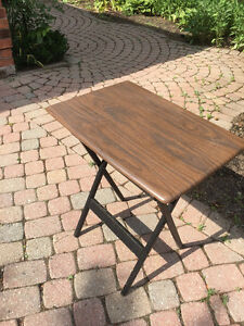 FOLDING DINING CORNER COFFEE MAGAZINE TABLE