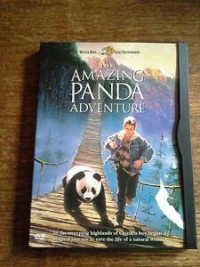 THE AMAZING PANDA ADVENTURE AND AN ALL DOGS CHRISTMAS CAROL DVDS