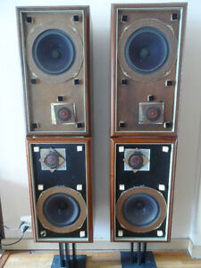 The Stacked Original Large Advent Speakers