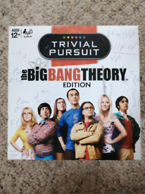 Brand new big bang theory trivial pursuit expansion pack