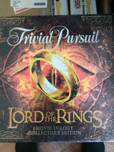 Trivia Pursuit The Lord of the Rings Movie Trilogy Collectors