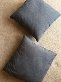 Brand new grey cushions