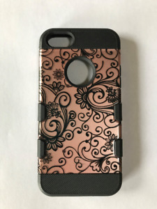 Rose gold case for iPhone 5,5S and SE
