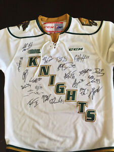 London Knights Signed Jersey from 2015-16 Memorial Cup team! London Ontario image 1