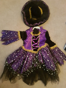 Kids Witch Costume - New 2t