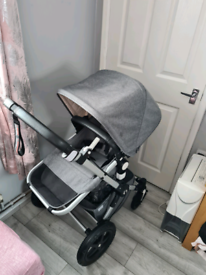 Bugaboo cameleon 3 + classic grey melange special edition