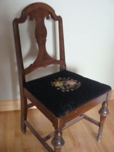 Needle point chair