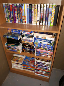 Exercising machines and movies VHS