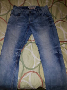 Jeans Mens Size 34 CK Calvin klein & 34 Justing Stylish Cotton