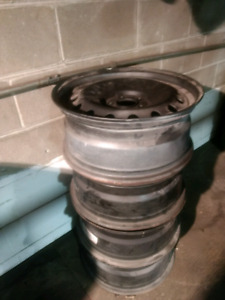 4x 18 inch Very clean Rims steel mags 5x114.3