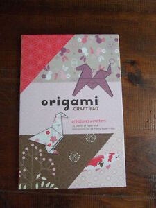 origami paper - brand new