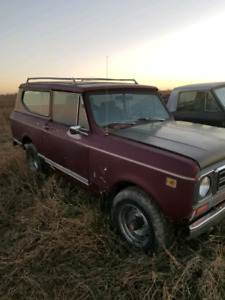 1978 Scout II and Terra Trucks / Parts